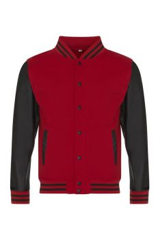 LETTERMAN BASEBALL COLLEGETAKKI Fire Red - Black