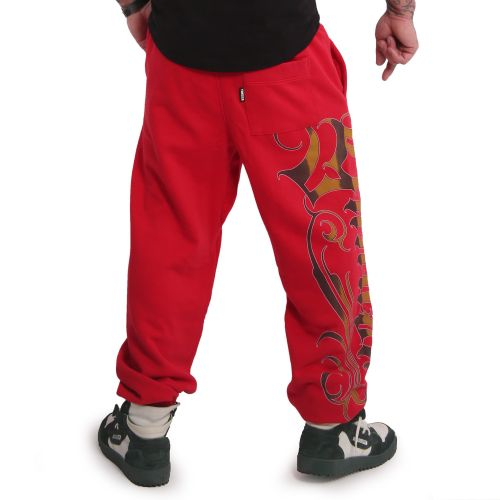 YAKUZA - Glory Loose Jogger red - COLLEGEHOUSUT