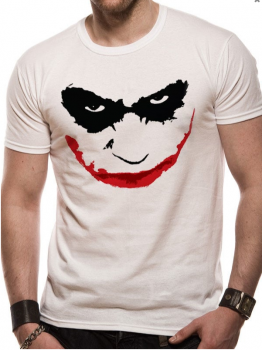 T-PAITA - BATMAN - JOKER SMILE OUTLINE (LF8470)