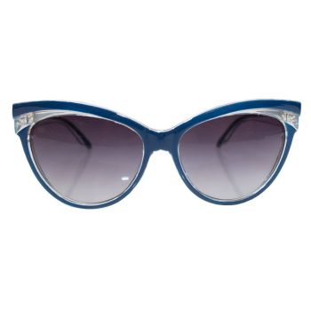 AURINKOLASIT - JUDY CLASSIC 50S SUNGLASSES NAVY - COLLECTIF