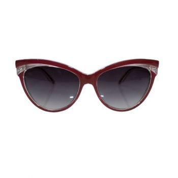 AURINKOLASIT - JUDY CLASSIC 50S SUNGLASSES RED - COLLECTIF