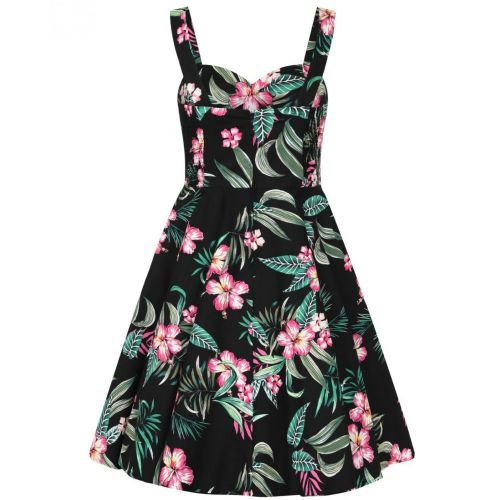 MEKKO - KALANI 50'S DRESS BLACK