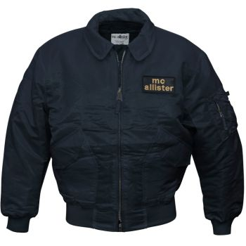 CWU-Pilotti -  Bomber Jacket - Mc Allister Musta