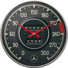 Seinäkello Mercedes-Benz - mittari