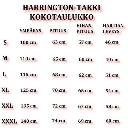SHOVELHEAD - Harrington-takki (1019)