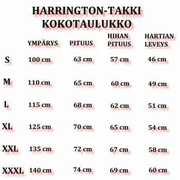 SUOMI - Harrington-takki