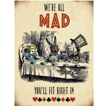 Kilpi - Alice in Wonderland - We're All Mad