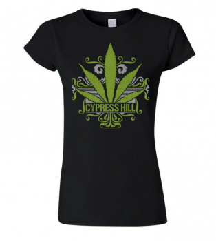 NAISTEN T-PAITA - CALIFORNIA SWEET LEAF - CYPRESS HILL (LF8509)
