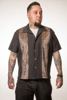 KAULUSPAITA - LEOPARD - STEADY CLOTHING (85096)