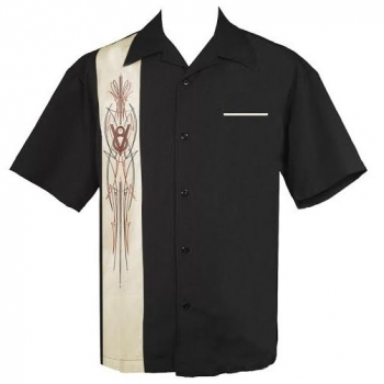 KAULUSPAITA - V-8 PINSTRIPE- STEADY CLOTHING
