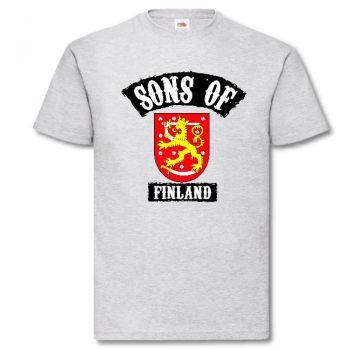 T-PAITA - SONS OF FINLAND LEIJONA