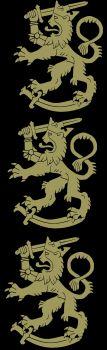 MIESTEN AUTHENTIC COLLEGEHOUSUT - kolme kulta leijonaa