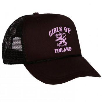 VERKKOPERÄLIPPIS GIRLS OF FINLAND musta