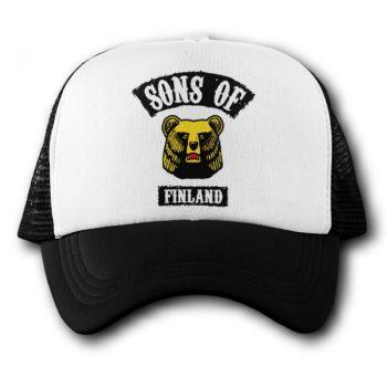 Verkkoperälippis - SONS OF FINLAND KARHU