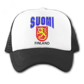 Verkkoperälippis SUOMI LEIJONA FINLAND