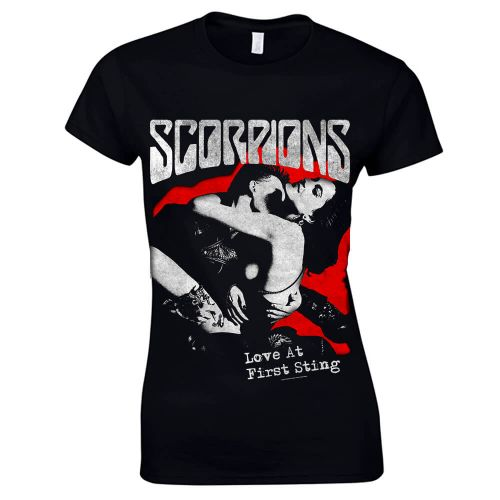 NAISTEN T-PAITA - LOVE AT FIRST STING - SCORPIONS (LF8328)