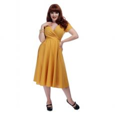 KELLOMEKKO - MARIA PLAIN SWING DRESS