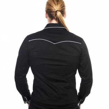KAULUSPAITA - Plain Trim Shirt muva