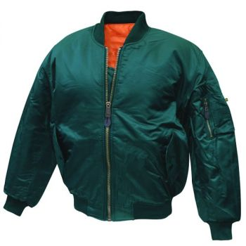MA-1 PILOTTITAKKI - Bomber Jacket bottlegreen - Mc Allister