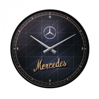 Seinäkello Mercedes Benz retro