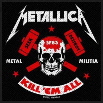 KANGASMERKKI METALLICA - KILL EM ALL (50607