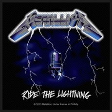 KANGASMERKKI - METALLICA Ride the lightning (50069)