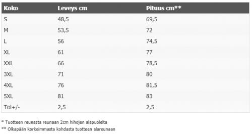 T - PAITA - TRIBAL PUNAINEN - MUSTA (8925)