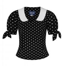 TOPPI - MIRELLA POLKA DOT TOP - COLLECTIF