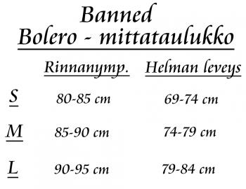 BOLERO - Folded Bolero MINTTU - BANNED