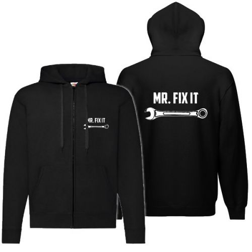 VETOKETJUHUPPARI MUSTA - MR. FIX IT
