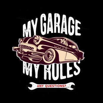 HUPPARI musta - MY GARAGE - SPEED KINGS