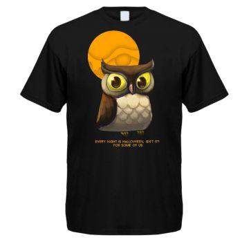 T-PAITA musta - OWL