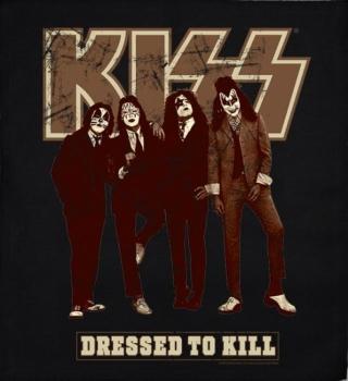 JUMBO PATCH - DRESSED TO KILL - KISS (LF7113)