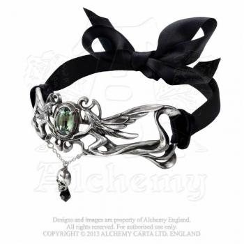 KAULAKORU - La Fleur de Baudelaire Choker- ALCHEMY (P517)
