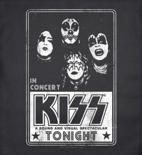 JUMBO PATCH - IN CONCERT - KISS (LF7115)