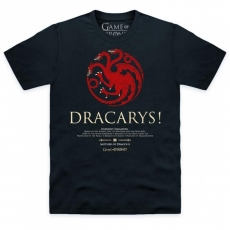 T-PAITA - GAME OF THRONES - DRACARYS (LF8075)