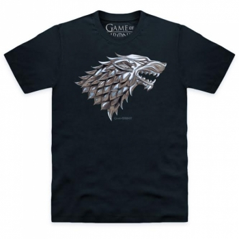 T-PAITA - GAME OF THRONES - STARK LOGO (LF8078)