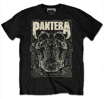 T-PAITA - PANTERA - 101 PROOF SKULL