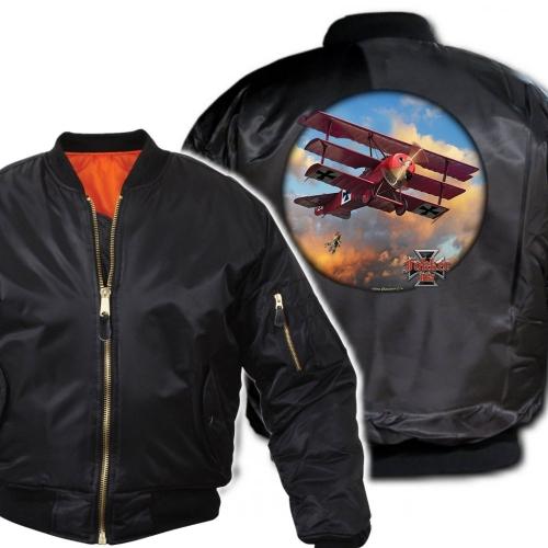 MA-1 PILOTTITAKKI - FOKKER TRI-PLANE (968A)