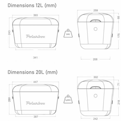 Kylmälaukku - POLARBOX 20L LILA CLASSIC