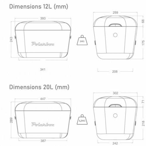 Kylmälaukku - POLARBOX 20L KELTAINEN CLASSIC