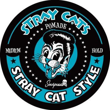 SOURPUSS STRAY CATS SLICK AND 17 POMADE MED