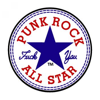 HUPPARI - PUNK ROCK ALL STAR royal
