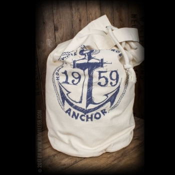 Canvas Kitbag - Drop my anchor