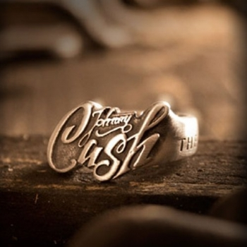 SORMUS - Stainless Steel Ring Johnny Cash