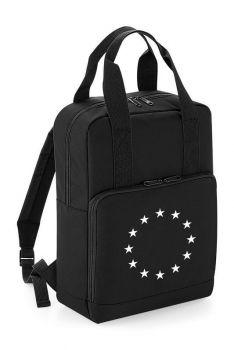 Reppu EU-lippu musta