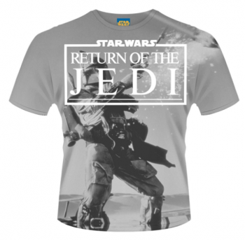 T-PAITA - STAR WARS - RETURN OF THE JEDI ALL OVER PRINT (LF1005Y)