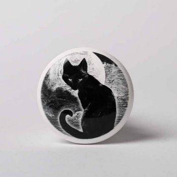 VIINIPULLON KORKKI - Black Cat