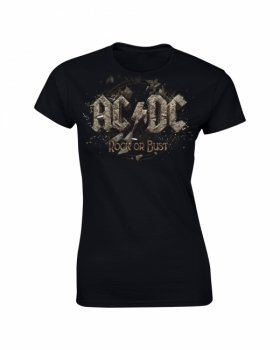T-PAITA - ROCK OR BUST GIRLIE - AC/DC (LF8165)
