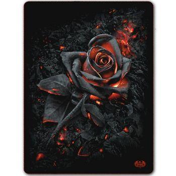 FLEECE HUOPA - BURNT ROSE - SPIRAL